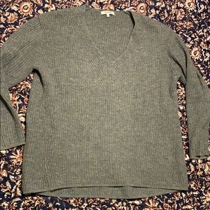 Madewell gray sweater
